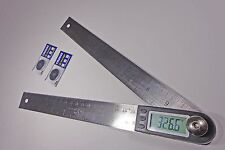 """Digital Electronic Miter Angle Finder Protractor  Rule 11"""""""