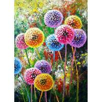 5D DIY Full Drill Diamond Painting Dandelion Cross Stitch Embroidery Mosaic #B