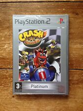 SEALED PS2 GAME CRASH NITRO KART PLATINUM SONY PLAYSTATION 2 BANDICOOT CHEAPEST