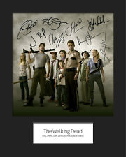 THE WALKING DEAD #1 Signed Photo Print 10x8 Mounted Photo RePrint - FREE DEL