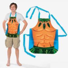 Hawaiian Luau Hula Apron Vinyl Male Fun Costume Adult Size