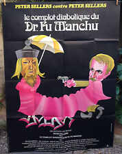 affiche originale- movie poster-Le Complot diabolique du docteur Fu Manchu