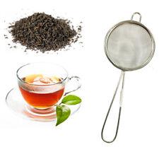 Tea Strainer Sieve Mesh Kitchen Traditional Loose Leaf Fine Tea Filter Infuser