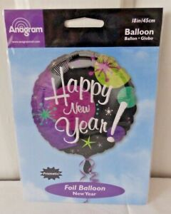 """ANAGRAM 18"""" HAPPY NEW YEAR FOIL"""