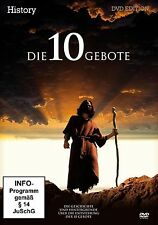 Die 10 Gebote - History - DVD - OVP - NEU