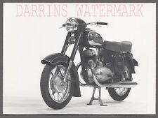 Vintage 1950s Photo Jawa 353 354 Motorcycle 701042