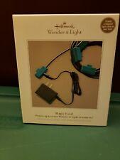 Hallmark Wonder & Light Magic Cord with Box Christmas Ornament Decoration