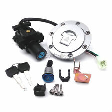 Ignition Switch Fuel Gas Cap Lock Key Set Fit Honda CBR600RR 2003-2006 2004 2005