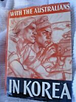s BOOK WITH THE AUSTRALIANS IN KOREA 294 PAGES ILLUSTRATED PUB 1954 ARMY