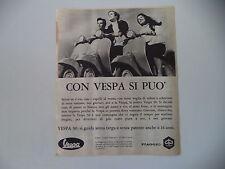 advertising Pubblicità 1968 VESPA 50