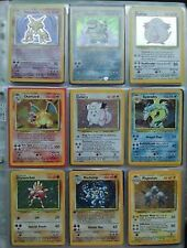 Base Set 1 Pokemon Cards RARES / HOLOS / SHINYS / CHARIZARD / BLASTOISE