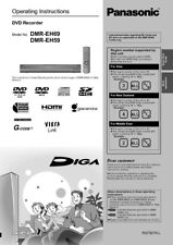 Panasonic DMR-EH59 DMR-EH69 DVD Recorder Owners Instruction Manual
