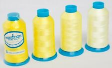 Marathon Polyester Embroidery machine thread: Shade Pack - Yellows 4 x 1,000m