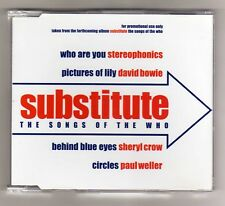 THE WHO Promo Cd Maxi BOWIE STEREOPHONICS SHERYL CROW PAUL WELLER 4 tracks  2001