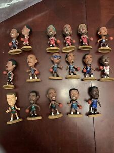 Vintage 1990's LOT-17 NBA Headliners Basketball Corinthian Figures