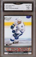 GMA 10 Gem Mint ALEX KILLORN 2013/14 UD Upper Deck YOUNG GUNS Rookie Card!