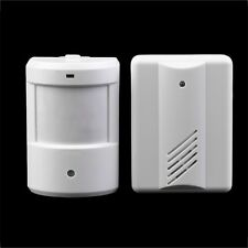 Driveway Patrol Garage Infrared Wireless Doorbell Alarm System Motion Sensor UL