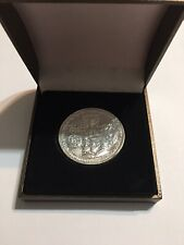 Trump Cyrus Temple Coin SOLID SILVER. New From Israel AUTHENTIC