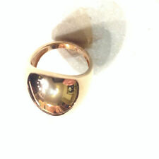 14 Carat Rose Gold Precious Metal Rings without Stones