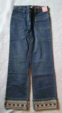 Gymboree MOUNTAIN CABIN Denim Jeans Heart Cuff Size 10 NWT