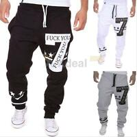 New Men's Sport Sweat Pants Harem Baggy Jogging Training Dance Slacks Trousers