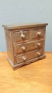 Small Tabletop Wooden Drawers