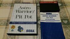 Astro Warrior Pit Pot Sega Master System