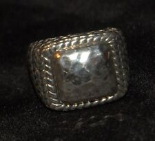 SILPADA - R1646 - Hammered Sterling Silver Ring, Size 6.5 - RET