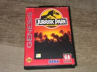 Jurassic Park Sega Genesis w/Case Cleaned & Tested Authentic