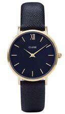 Relojes de pulsera unisex Blue de acero inoxidable