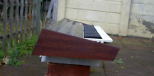 Korg Polysix Wooden Case Analog Synthesizer Sapele Wood Brown Excellent Build