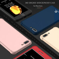 NEW 360 Degree Full Cover Phone Case For iPhone 7 8 6 6s Plus Protective