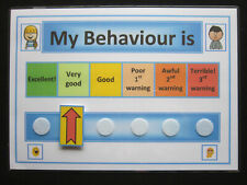 MY BEHAVIOUR IS CHART -  ADHD, Autism, SEN, PECS, Visual Behavioural Aid, ASD