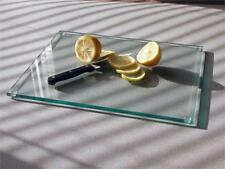 Glass Chopping Board Clear Workspace Saver Protect Cutting Worktop Placemat Mat
