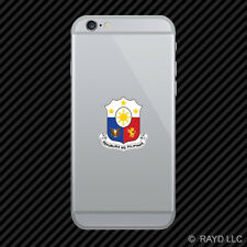 Filipino Coat of Arms Cell Phone Sticker Mobile Philippines flag PHL PH
