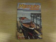 June 1957, MECCANO MAGAZINE, Essex Ferry, Horace Hanes, Preston Watson.