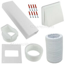 "Venting Kit For Zanussi Tumble Dryer Vent External Wall Outlet 4"" 100mm White"