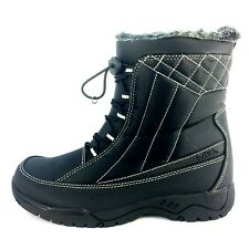 e36acb9659e5 Totes Womens Eve Cold Weather Winter BOOTS Black 8