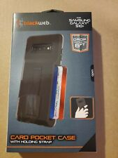 Blackweb Samsung Galaxy S10 Plus Card Pocket Case