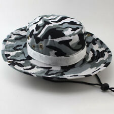 Mens Bucket Hats Boonie Wide Brim Sun Cap Military Camo Hunting Fishing Hiking
