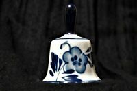 Delft Blue Bell Windmill and Landscape Floral Hand Painted FREE SHIPPING!