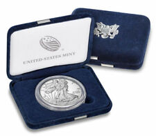 2018 W American Eagle One Ounce SILVER PROOF Coin West Point 1 Oz Box & COA 18EA
