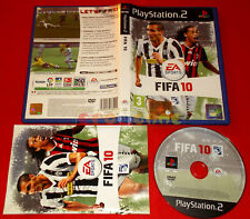 FIFA 10 Ps2 Versione Ufficiale Italiana 1ª Edizione ○ COMPLETO
