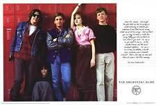 BREAKFAST CLUB LOCKERS 24x36 poster JOHN HUGHES EMILIO ESTEVEZ CLASSIC 80'S ICON