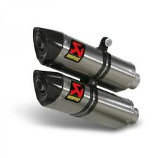 S-D10SO6C-HZT KIT TERMINALI AKRAPOVIC DUCATI STREETFIGHTER 848 2012 TITANIO