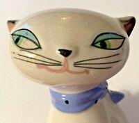 Vintage Mid Century Anthropomorphic Cat Salt Pepper Crying Kitten Japan