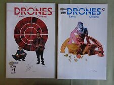 Drones 1 2 3 5 IDW Comics VF/NM
