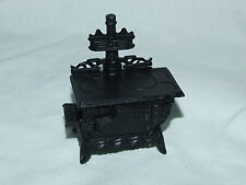 24TH SCALE DOLLS HOUSE MINIATURE FIREPLACE METAL STOVE