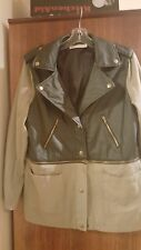 Fabulous BLOSSOM ladies casual leather look jacket (size 10)
