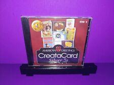 American Greetings CreataCard Silver 5 CD1 PC CD ROM Brand New B447